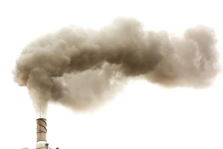 Dirty dymu wędzarniczego odizolowane, problemy Ekologia