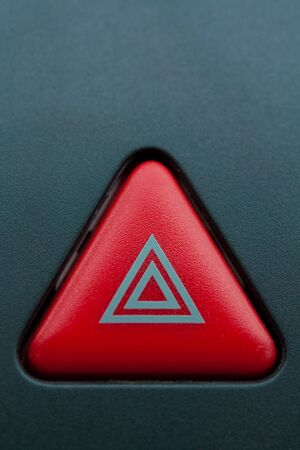 Emergency button on car panel