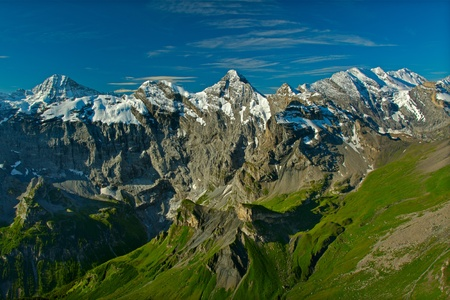 View from the Schilthorn mountain in Switzerland Stock Photo - 8391629