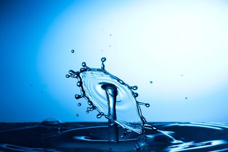 Water drop falling and colliding with another one Stock Photo - 12476002