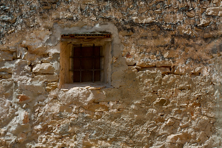 hause: Old hause wall with window Stock Photo