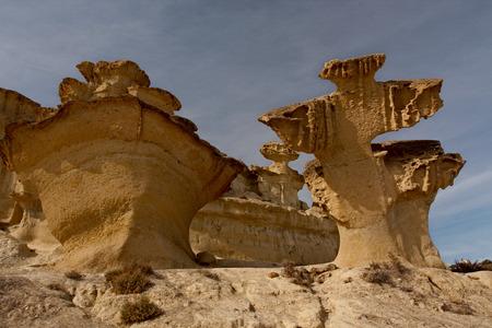 phenomena: Natural phenomena wind erosion of the rocks