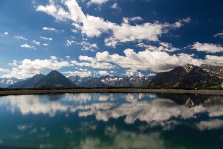 View from Penken mountain in Austria