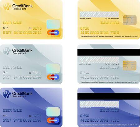 Credit Card Stock Vector - 9696585