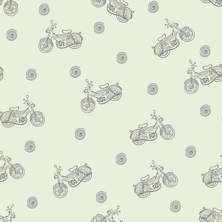 moped: Seamless texture moped