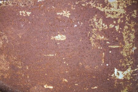metal corrosion: Texture of rusty old metal with corrosion