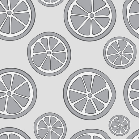 spoiled: Seamless texture with gray colourless citrus fruit