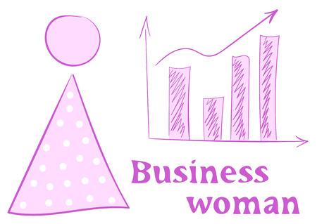女性実業家: