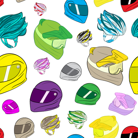 durability: Seamless texture with a color bicycle helmet with a thong