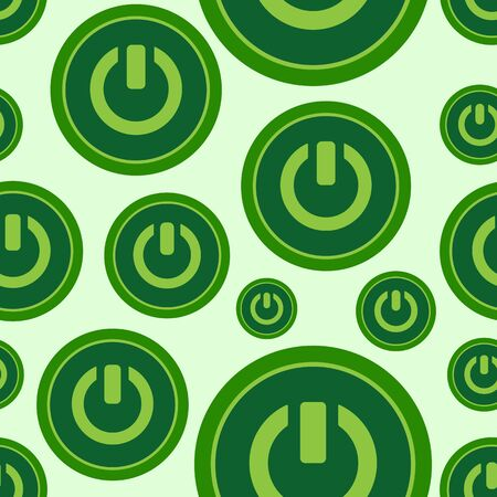 inclusion: Seamless texture with green buttons of inclusion