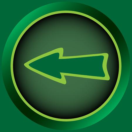 conceptual: Icon the button with a conceptual pointer