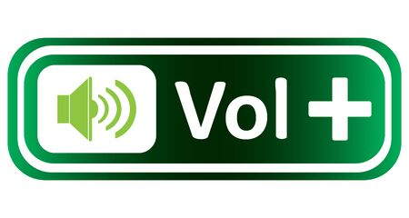 sounding: Long icon with sound symbol and the inscription volume