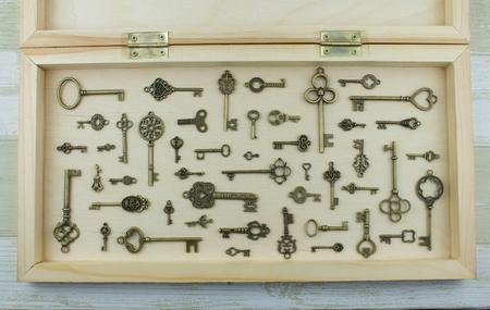 Collection of metal keys