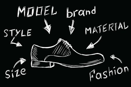 White shoes and their characteristics