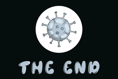 The end and virus microbe