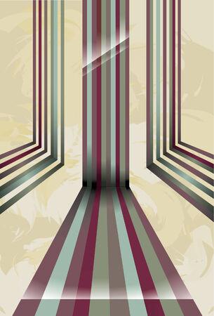 perspectiva lineal: Un conjunto de l�neas de colores con las sombras y se destacan la reducci�n de la p�gina y adelante en perspectiva. Gradientes lineales simples se usan, muy f�cil de cambiar de color. Los elementos del fondo est�n en una capa separada. Pone de relieve sombreado y se crean mediante el uso de g Vectores