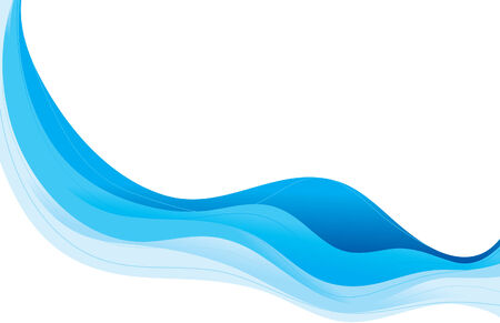 Abstract wave background. All items grouped on same layer. Easy to manipulate and change colors.