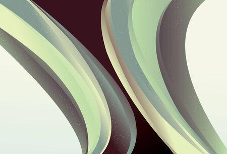 トップの細い線と底のメインライン スポット、別のレイヤー上のすべて。色塗りは、単純な線形グラデーションです。