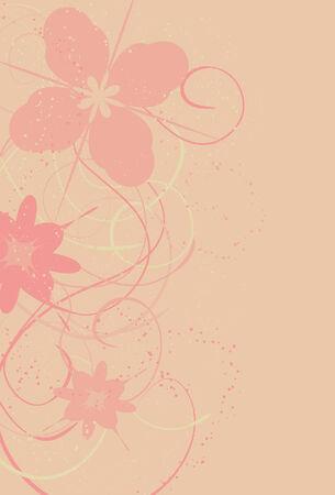 큰 반점, 작은 반점, 꽃 및 소용돌이는 전부 분리되는 층에있다.
