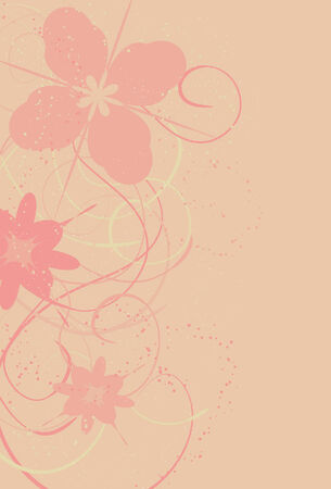 Large spots, small spots, flowers and swirls are all on separate layers.
