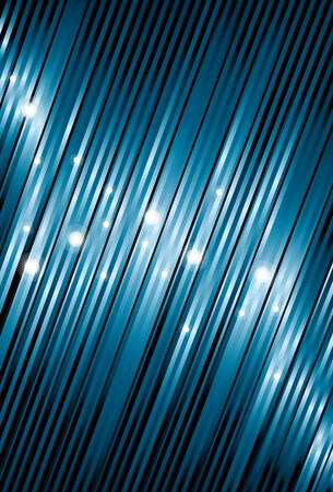 Sparkles, top dunne lijnen, dikke bodem lijnen en achtergrond worden op aparte lagen. Regels wordt via een knip masker bijgesneden. Eenvoudige lineaire verlopen worden gebruikt.