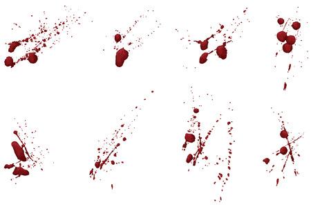 spatters: Questa non � una traccia dal vivo. Ogni raggruppamento splatter � mano ombreggiato e su un proprio livello. Facilmente aggiungere o sottrarre porzioni o modificare un colore unico.