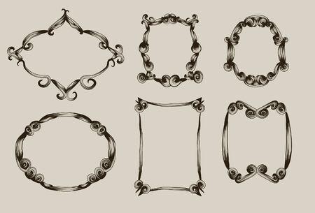 Elk frame is op een eigen laag, net als de achtergrond.