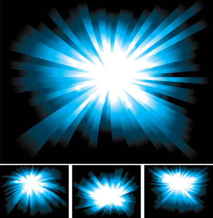 shinning: Bright Shinning Blue Light Ray Background Collection