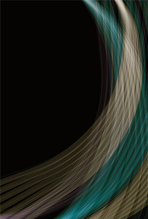 Blurry abstract line background Illustration