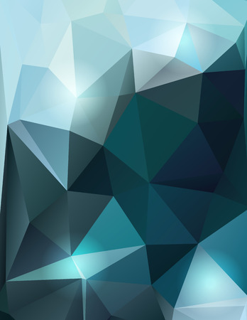 Blue vector abstract polygonal low poly background 向量圖像