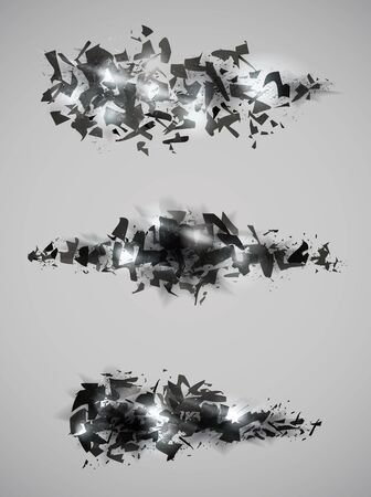 dispersion: Shattered effect design collection