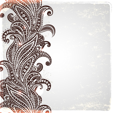Mooie paisley ornament