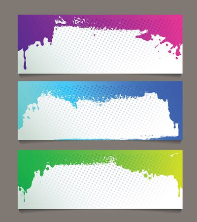Set of abstract banners Stock Vector - 17781548