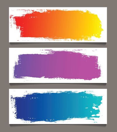 Set of abstract banners Stock Vector - 17781550