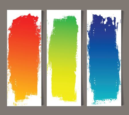 Set of abstract banners Stock Vector - 17781549