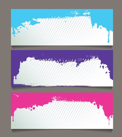Set of abstract banners Stock Vector - 17781560