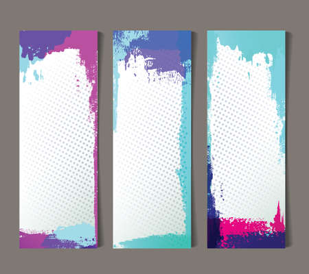 Set of abstract banners Stock Vector - 17781574
