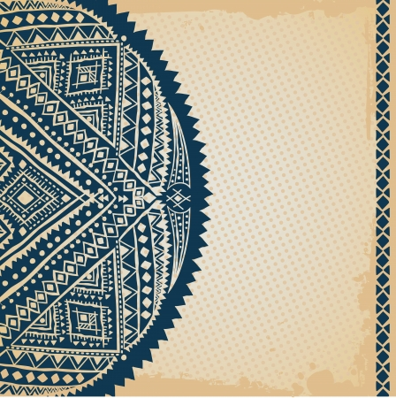 Ethnic ornament Stock Vector - 17781565