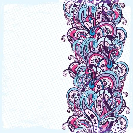 Mooie ornament Stock Illustratie
