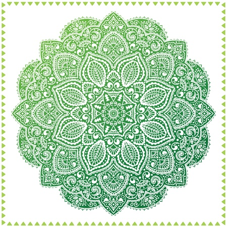mandala flower: Beautiful ornament