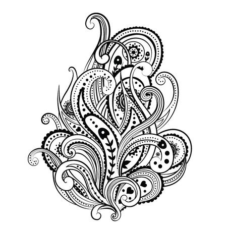 Beautiful ornament Stock Vector - 18338192