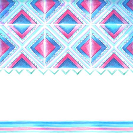 Watercolor blue and pink background Stock Photo - 18458283