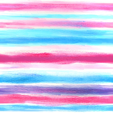 Watercolor blue and pink  pattern Stock Photo - 18499079