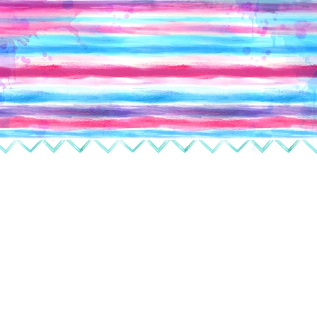 Watercolor blue and pink background Stock Photo - 18499082