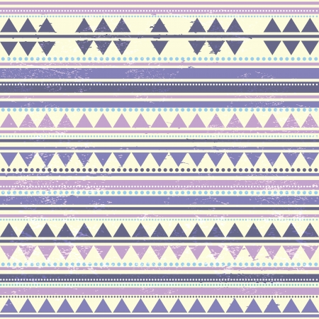 tribal pattern: Abstract tribal pattern Illustration