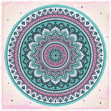 mandala: Beautiful Indian ornament Illustration