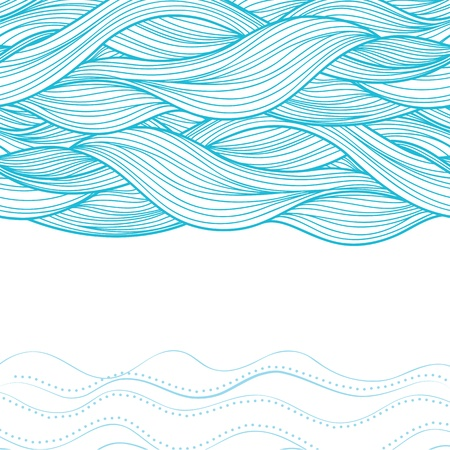 repetition: Abstract Wave background