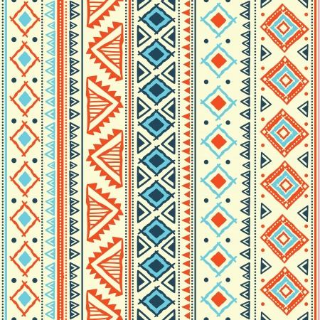 tribales: Patrón tribal abstracto Vectores
