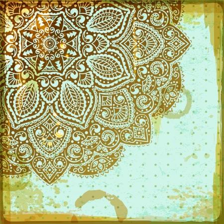 mandala: Beautiful ornament
