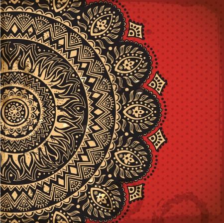 arabesque: Bell'ornamento Vettoriali